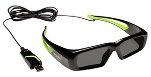 Продам 3D очки NVIDIA 3D Vision Wired Glasses